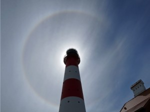 tWesterhever Leuchturm in der aktuellen Fotoausstellung im Biohotel Miramar